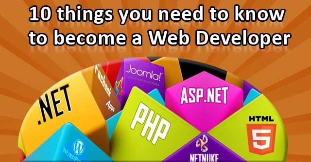 Need Web Devel