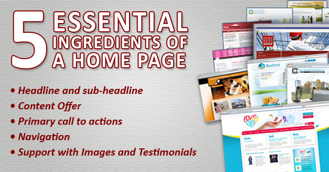 Essential Ingredient Home Page