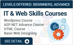 Nist Offers Graphic Design Web Development Courses With Guaranteed Internship In Karachi